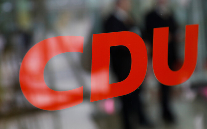 Saksa kantsleri Angela Merkeli Kristlik-Demokraatlik Liit (CDU).