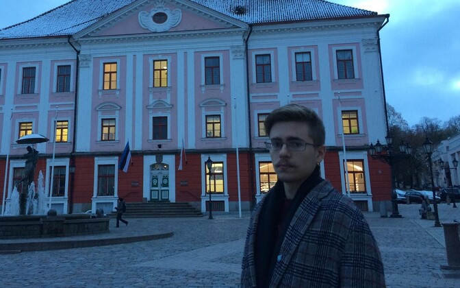 Федор Стомахин живет в Тарту.