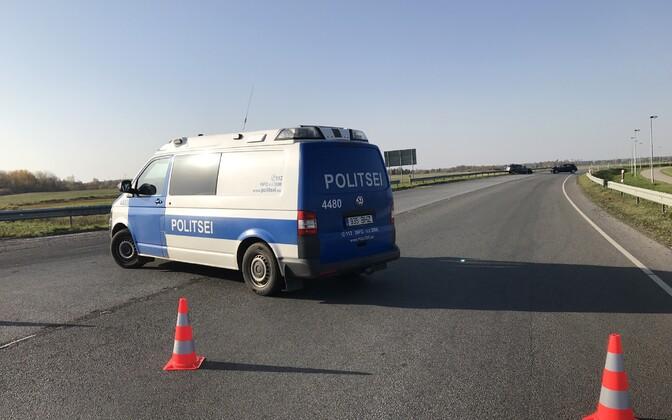 ДТП на дорогах Эстонии происходят регулярно.
