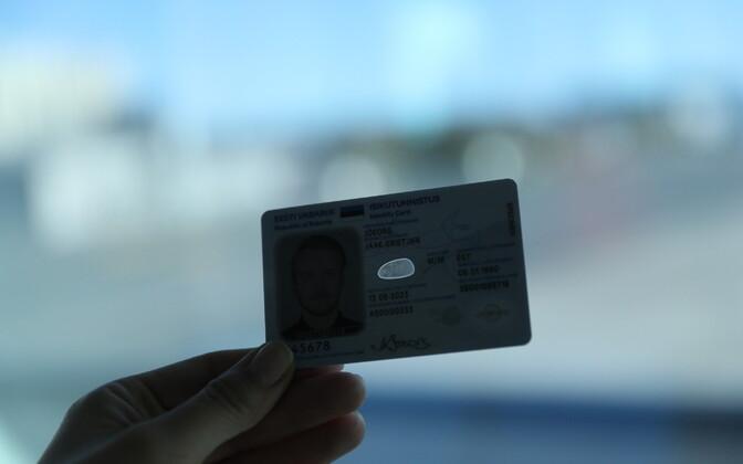 Probleeme võib olla ka ID-kaartidega
