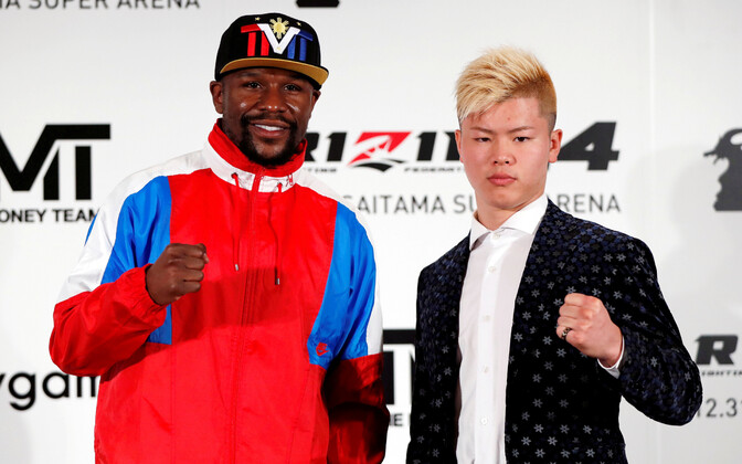 Floyd Mayweather ja Tenshin Nasukawa