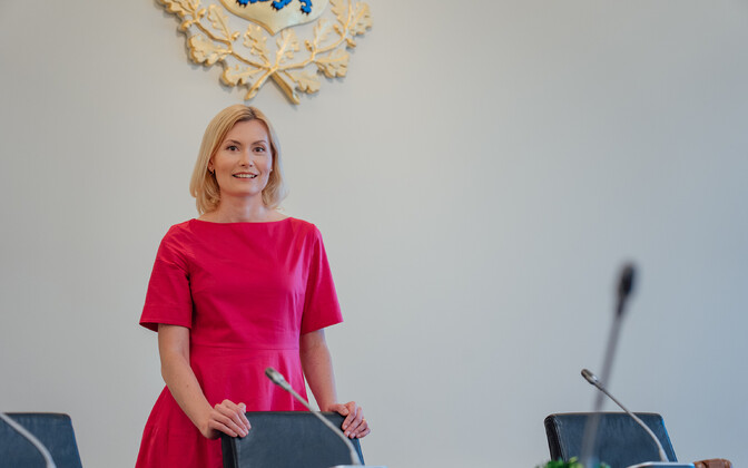 Minister of Health and Labour Riina Sikkut (SDE).