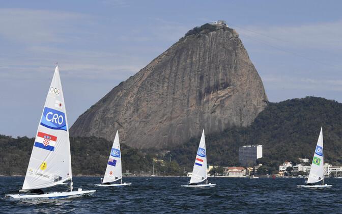 Laser klassi purjekad Rio de Janeiro olümpiamängudel