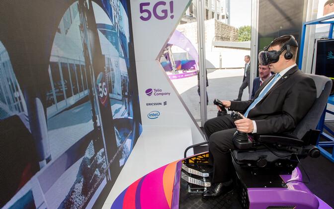 Araabia Ühendemiraatide majandusminister kohtus kevadel Eestis peaminister Jüri Ratasega, et meelitada Eesti IT ja kaitsetööstuse ettevõtteid Dubai tasuta pakutavasse paviljoni. Siis ütles Eesti