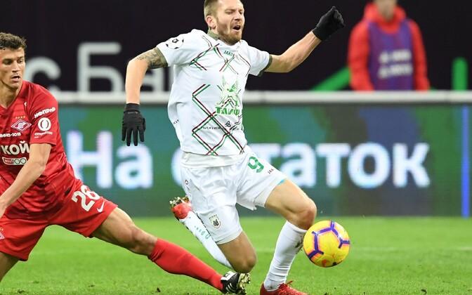 Vitali Ustinov mängus Moskva Spartaki vastu