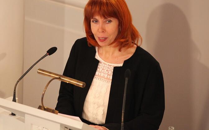 Маргит Сутроп попробует стать депутатом Рийгикогу.