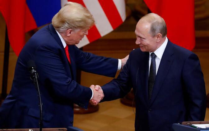 USA president Donald Trump ja Venemaa president Vladimir Putin kohtusid suvel Helsingis.