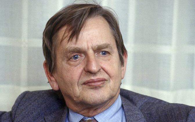 Swedish Prime Minister Olof Palme, who was assassinated in 1986.