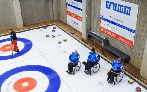 Eesti ratastooli-jääkeegli võistkond