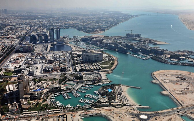 View overlooking Abu Dhabi.