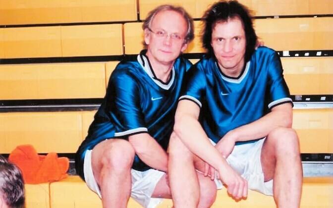 Eiki Nestor ja Indrek Saar.