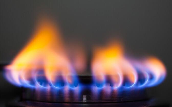 Газовая плита.