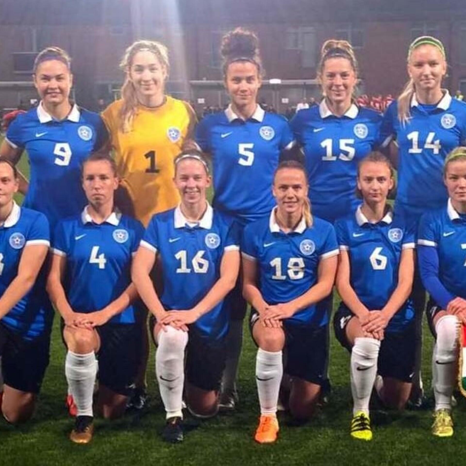 703f37c3758 Naiste koondis alustab valiksarja kodus Hollandi vastu | Jalgpalli Eesti  koondis | ERR