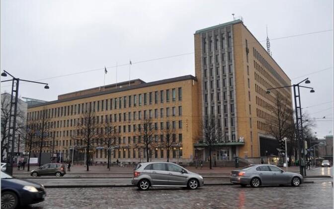 Главпочтамт в Хельсинки.