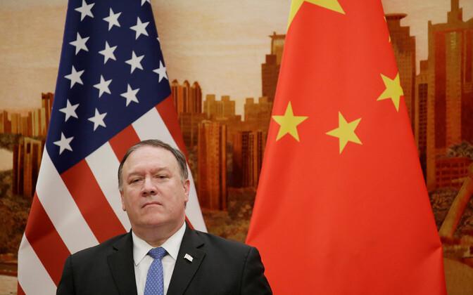 USA välisminister Mike Pompeo juunis Pekingis.