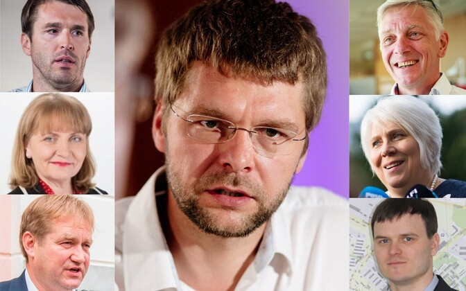 Первые номера социал-демократов на предстоящих выборах в Рийгикогу.