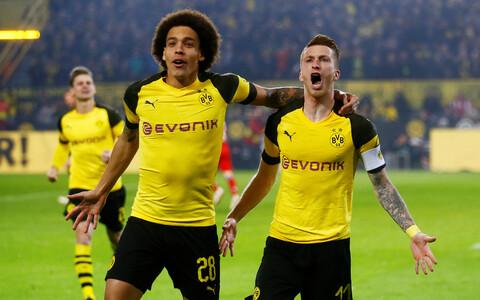 Dortmundi võidus suurt rolli mänginud Marco Reus ja Axel Witsel