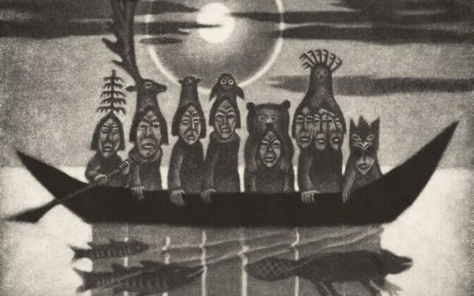 Kaljo Põllu. Päikesevene. 1974.