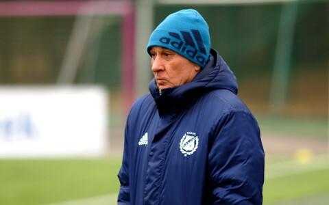 Nõmme Kalju peatreener Sergei Frantsev