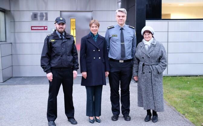 President Kersti Kaljulaid külastas Viru vanglat.