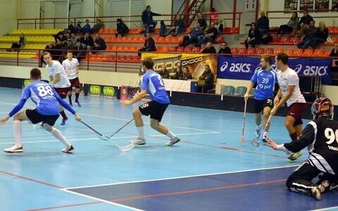 Мужская сборная Эстонии по флорболу признала превосходство соседей из Латвии.