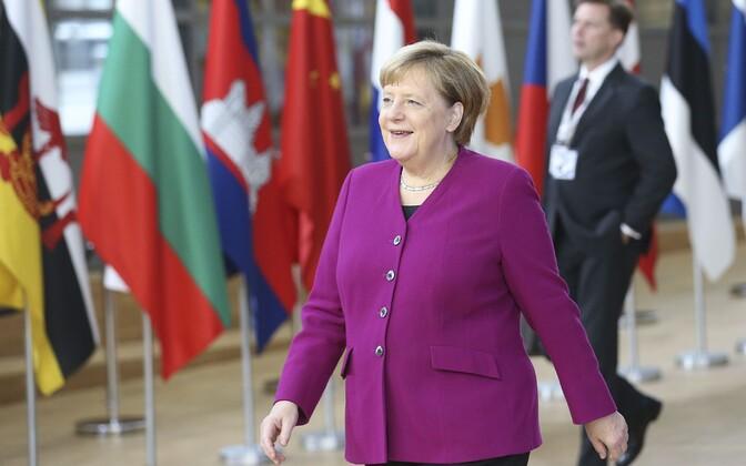 Saksa kantsler Angela Merkel