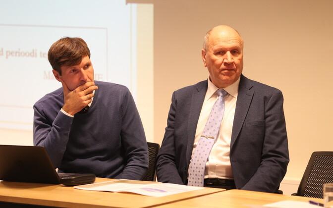 Martin Helme ja Mart Helme EKRE volikogu istungil.
