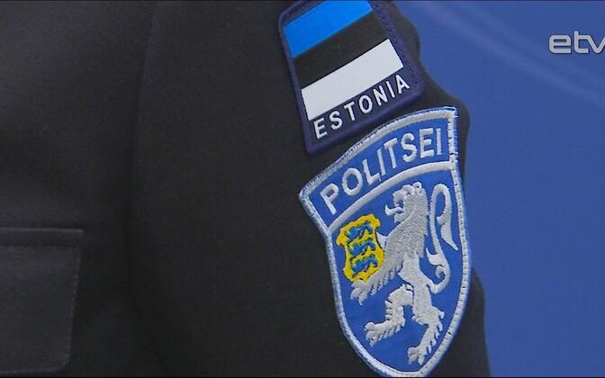 Эстонская полиция. Иллюстративная фотография.