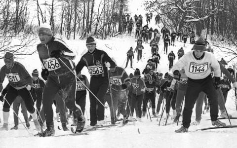 Tartu Maraton 1980ndatel.