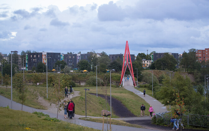 Парк Паэ в Ласнамяэ.