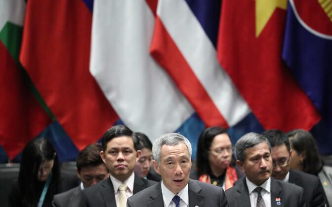 Singapuri peaminister Lee Hsien Loong.