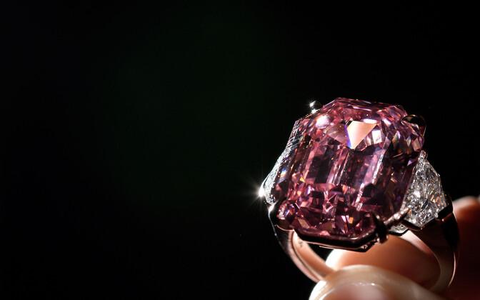 Teemant Pink Legacy.