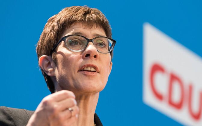 CDU peasekretär Annegret Kramp-Karrenbauer.