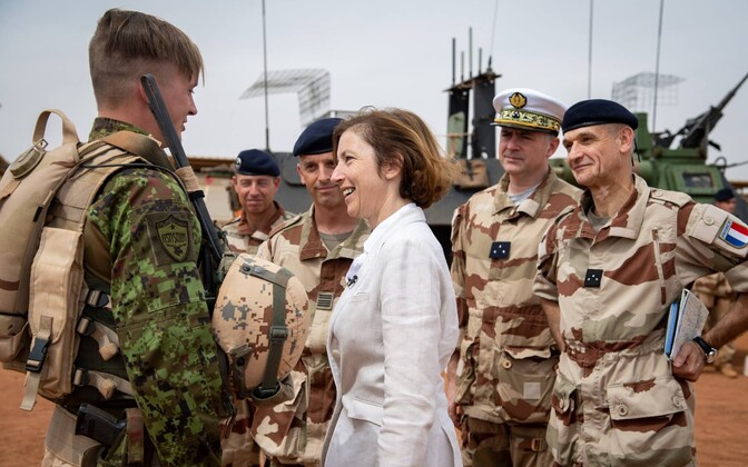 Prantsusmaa kaitseminister Florence Parly Malis.