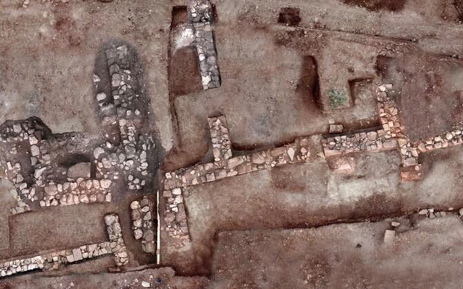 Древнегреческий город Тенея.