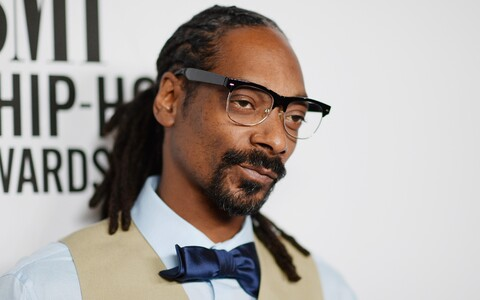 Snoop Dogg BMI rnb/hip-hop auhindade jagamisel Sabani teatris.