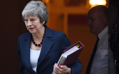 UK Prime Minister Theresa May (Conservative). The Ministry of Foreign Affairs says it welcomes her government's agreement on the deal to leave the EU.