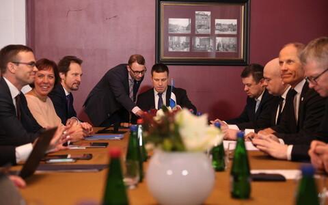 Заседание правительства в Доме учителей