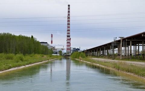 Канал, подводящий к Нарвским электростанциям.