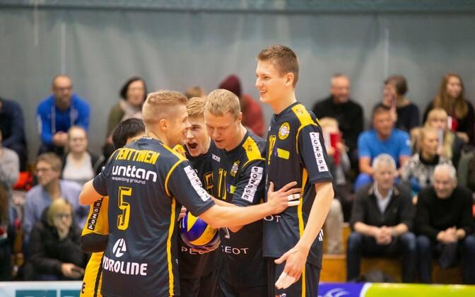Andrus Raadik (paremalt teine) koos meeskonnakaaslastega.