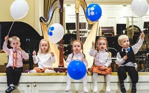 ERSO muusika-aasta lapsed