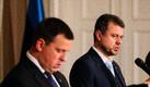 Jüri Ratas, Urmas Reinsalu ja Mailis Reps pressikonverentsil
