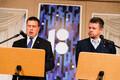 Jüri Ratas ja Urmas Reinsalu pressikonverentsil