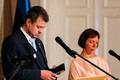 Urmas Reinsalu ja Mailis Reps pressikonverentsil