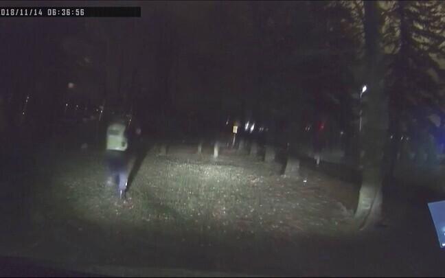 Преследование автоугонщика в Тарту.