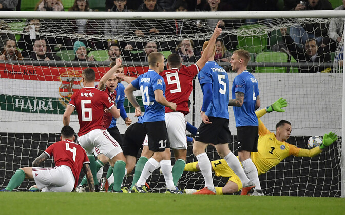 Ungari - Eesti kohtumine UEFA Rahvuste liigas