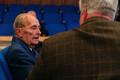 30 aastat suveräänsusdeklaratsioonist konverents, Vaino Väljas Toomas Sildamile intervjuud andmas