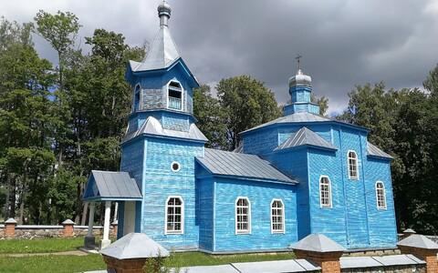 Lätis Merdzese vallas, Püha Neitsi õigeusu kirik.