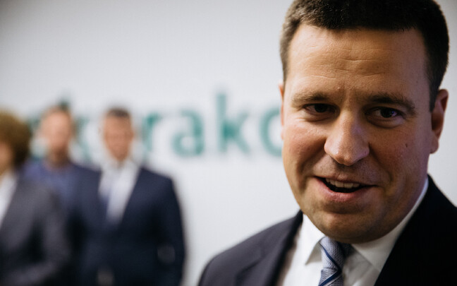 Prime minister and Centre Party chairman, Jüri Ratas.