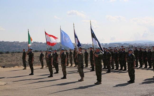 Подразделение Сил обороны Эстонии в Ливане.